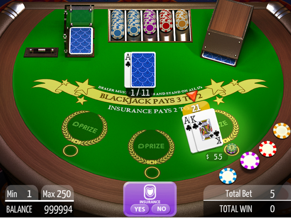 Prize Casino Blackjack